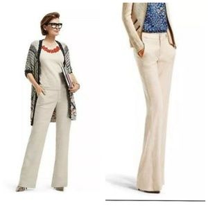 Cabi Everly linen blend pants 913l size 6